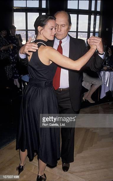 Sharon Brophy and Robert Duvall during Gala Celebration Kicking Off Ballroom Week May 31 1990 at Rainbow Room at Rockefeller Plaza in New York City...