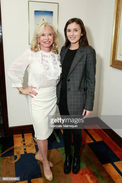 Sharon Bush and Kick Kennedy during the Lifeline NY Annual Benefit Luncheon 2017 at Le Cirque on October 25 2017 in New York City