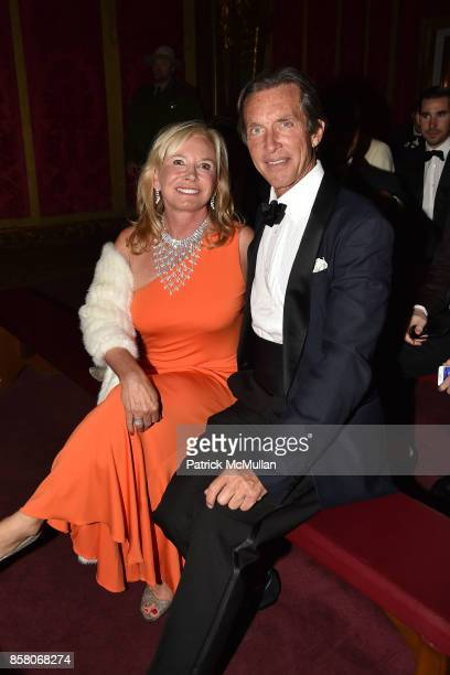Sharon Bush and Kim Taipale attend Hearst Castle Preservation Foundation Benefit Weekend James Bond 007 Costume Gala at Hearst Castle on September 29...