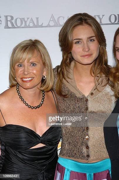Sharon Bush and Lauren Bush during Benefit Dinner For The Juilliard School and The Royal Academy of Music Arrivals at The Rainbow Room in New York...