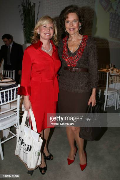 Sharon Bush and Margo Langenberg attend LORD TAYLOR Mother/Daughter Tea for FEED with LAUREN BUSH and ELLEN GUSTAFSON at Lord Taylor on May 7 2010 in...