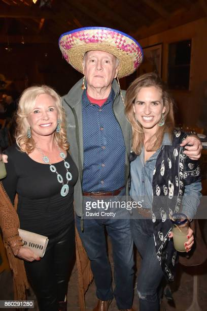 Sharon Bush Remar Sutton and Ashley Bush attend Hearst Castle Preservation Foundation Annual Benefit Weekend 'Hearst Ranch Patron Cowboy Cookout' at...