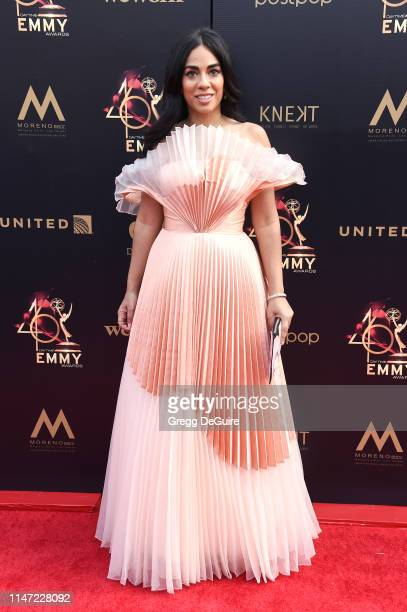 Sharon Carpenter attends the 46th annual Daytime Emmy Awards at Pasadena Civic Center on May 05 2019 in Pasadena California