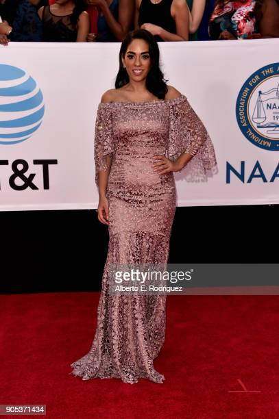Sharon Carpenter attends the 49th NAACP Image Awards at Pasadena Civic Auditorium on January 15 2018 in Pasadena California
