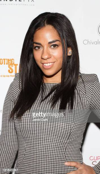 Sharon Carpenter attends the Shooting Star The Rise of Hip Hop Photographer Johnny Nunez DVD release party at Veranda on December 8 2010 in New York...