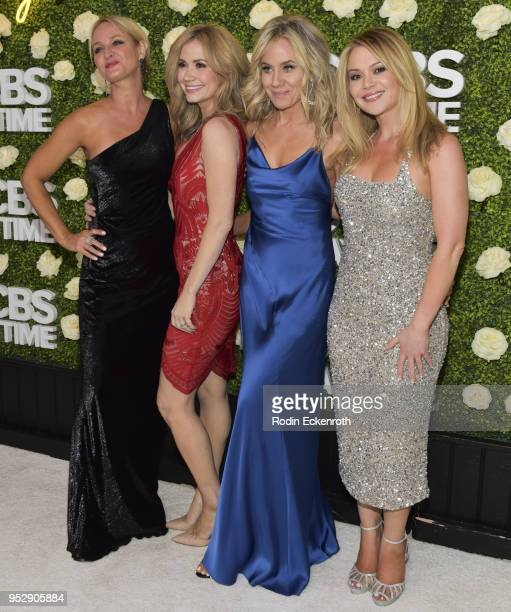 Sharon Case Ashley Jones and cast members attend the CBS Daytime Emmy After Party at Pasadena Convention Center on April 29 2018 in Pasadena...