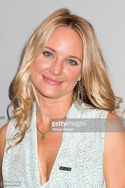 Sharon Case attends the SAGAFTRA panel discussion with the cast of 'The Young And The Restless' celebrating 40 years at SAGAFTRA on June 4 2013 in...