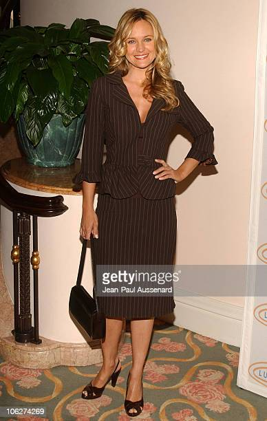 Sharon Case during 3rd Annual 'Hollywood Bag Ladies' Lupus Luncheon Arrivals at Beverly Hills Hotel in Beverly Hills California United States