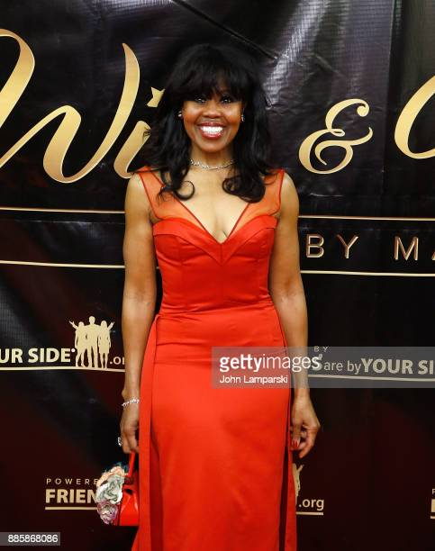 Sharon Catherine Brown attends the 2017 One Night With The Stars benefit at the Theater at Madison Square Garden on December 4 2017 in New York City