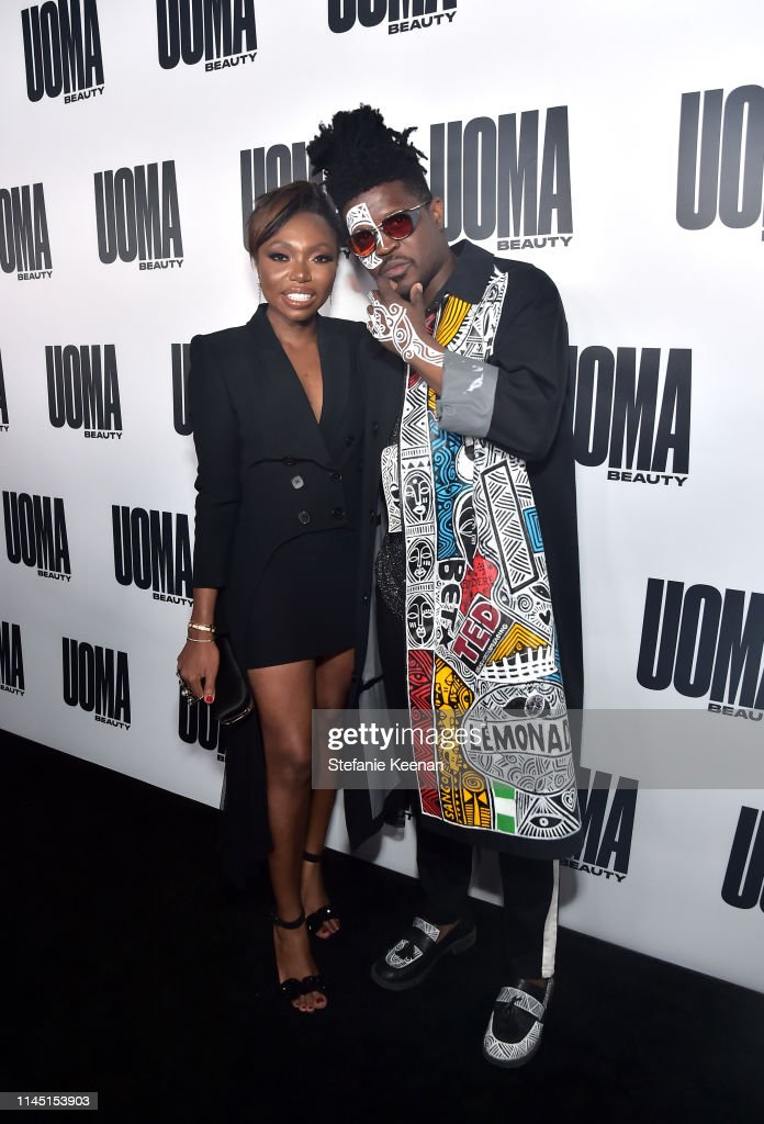 UOMA Beauty Launch Event : News Photo