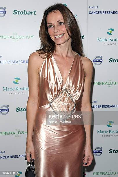 Sharon Corr attends the Emeralds Ivy Ball in aid of Cancer Research UK and the Marie Keating Foundation at Supernova on December 3 2011 in London...