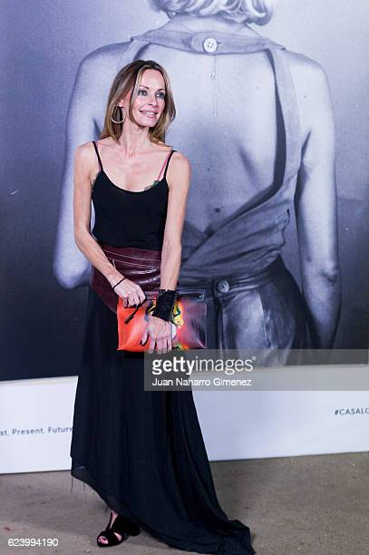 Sharon Corr attends the 'LOEWE Past Present Future' inauguration exhibition at Jardin Botanico on November 17 2016 in Madrid Spain