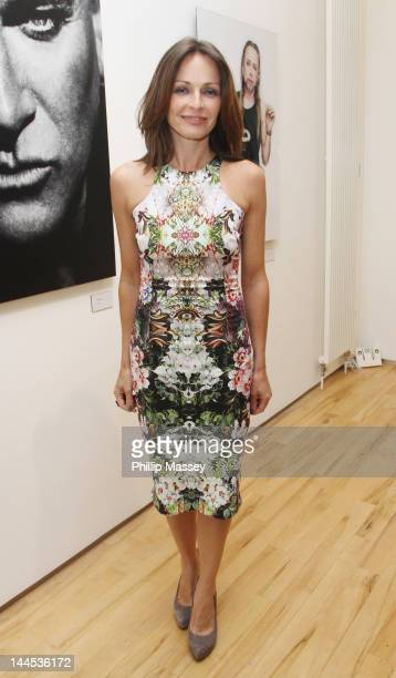 Sharon Corr attends the opening of photographer Barry McCall's Exhibition 'Pho20graphy' at The Copper House Gallery on May 15 2012 in Dublin Ireland