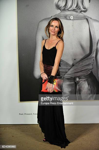 Sharon Corr attends the opening of the exhibition 'LOEWE Past Present Future' at Botanic Garden on November 17 2016 in Madrid Spain