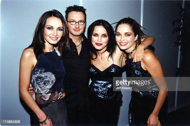 Sharon Corr Jim Corr Andrea Corr and Caroline Corr of The Corrs