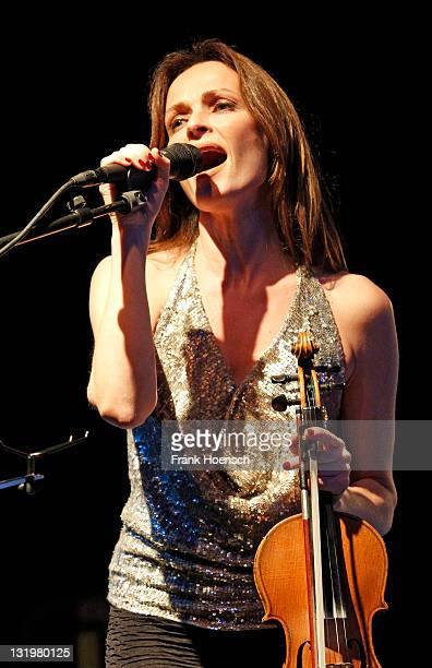 Sharon Corr performs live during a concert at the CClub on November 9 2011 in Berlin Germany