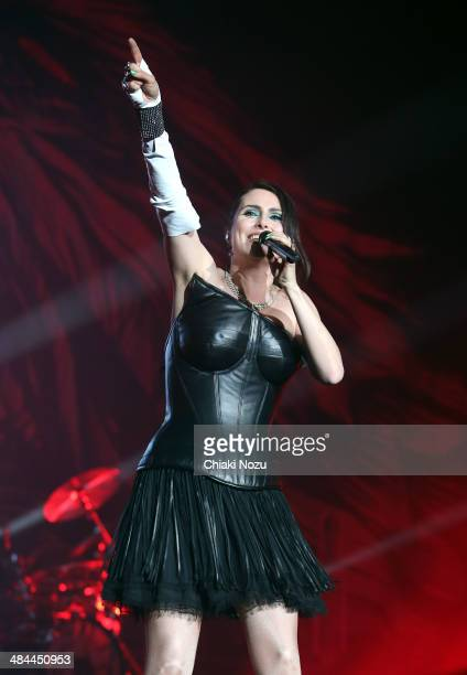 Sharon Den Adel Of Within Temptation Performs At Wembley Arena On April   In London