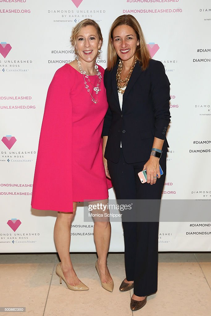 Diamonds Unleashed By Kara Ross Launch Party Hosted By Kara Ross, Anne Fulenwider , And Marie Claire Magazine : News Photo