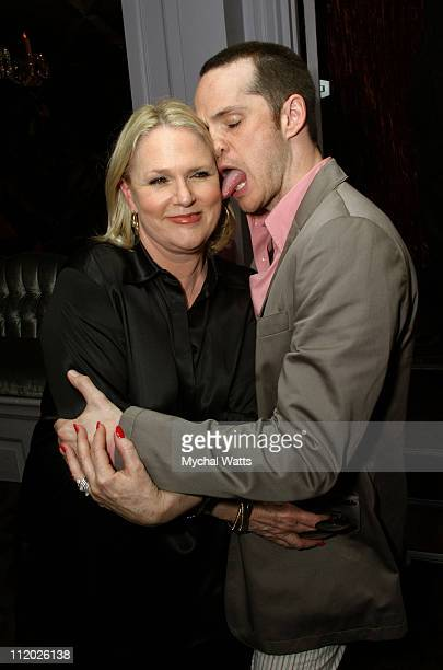 Sharon Gless and Peter Paige at the Motorola Sponsored New York Premiere of Showtimes Queer as Folk Event