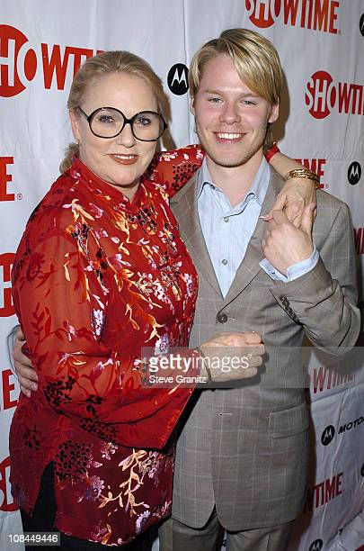 Sharon Gless and Randy Harrison during Motorola Hosts 'Queer As Folk' Final Season Premiere Arrivals at Regent Showcase Cinemas in Hollywood...