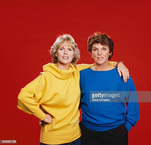 Sharon Gless and Tyne Daly of the Television Show Cagney Lacey