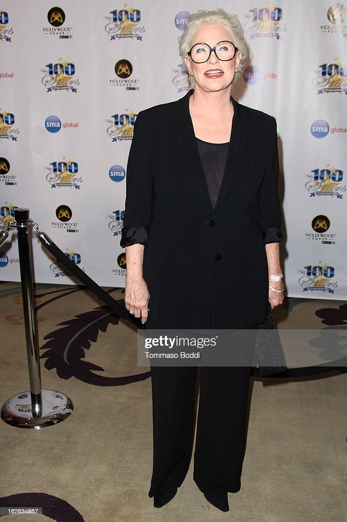 Sharon Gless attends the 23rd annual Night Of 100 Stars black tie dinner viewing gala held at the Beverly Hills Hotel on February 24, 2013 in Beverly Hills, California.