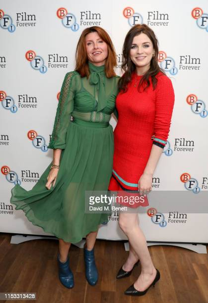 Sharon Horgan and Aisling Bea attend a special screening and QA for new Channel 4 comedy This Way Up at BFI Southbank on July 2 2019 in London England