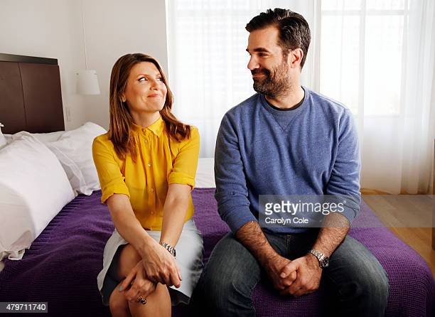 Sharon Horgan and Rob Delaney are photographed for Los Angeles Times on June 3 2015 in New York City PUBLISHED IMAGE CREDIT MUST BE Carolyn Cole/Los...
