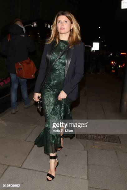 Sharon Horgan attending the Broadcast Awards on February 7 2018 in London England