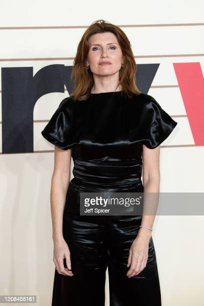 Sharon Horgan attends the Military Wives UK Premiere at Cineworld Leicester Square on February 24 2020 in London England