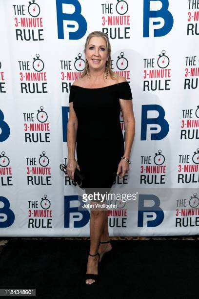 Sharon Hughes attends red carpet event featuring business influencers celebrities and leading network executives gather to celebrate Brant Pinvidic's...