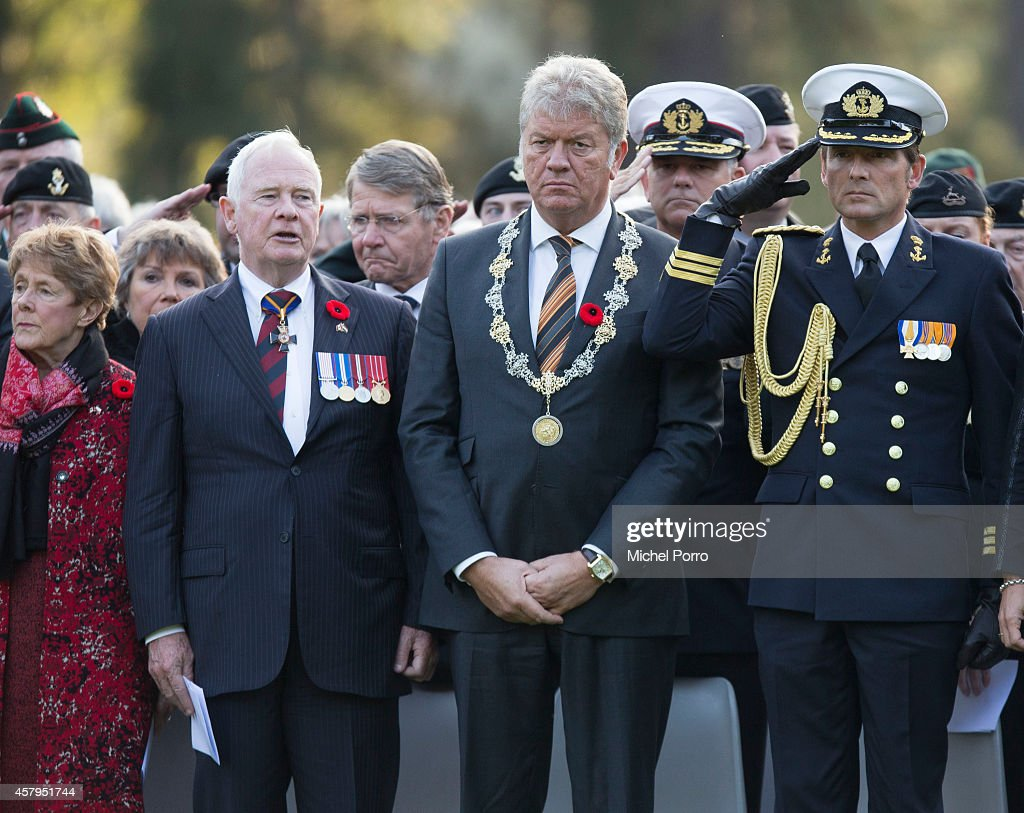 Governor General David Johnston Of Canada Visits The Netherlands : News Photo