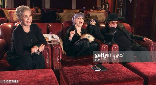 """Sharon, Kelly and Ozzy Osbourne in the The Deadliest Couch"""" episode of CELEBRITY WATCH PARTY airing Thursday, May 21 on FOX."""