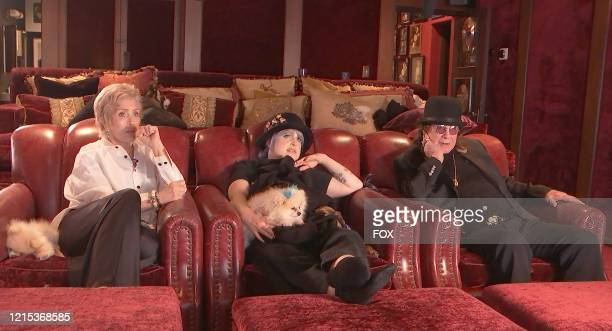 """Sharon, Kelly and Ozzy Osbourne in the """"Watch Party Has Begun"""" episode of CELEBRITY WATCH PARTY premiering Thursday, May 7 on FOX."""