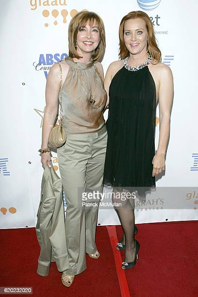 Sharon Lawrence and Angela Featherstone attend The 19th Annual GLAAD Media Awards at Kodak Theatre on April 26 2008 in Hollywood CA
