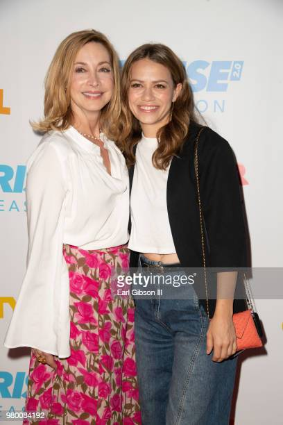 Sharon Lawrence and Bethany Joy Lenz attend Reprise 20 Presents 'Sweet Charity' Opening Night Performance at Freud Playhouse UCLA on June 20 2018 in...
