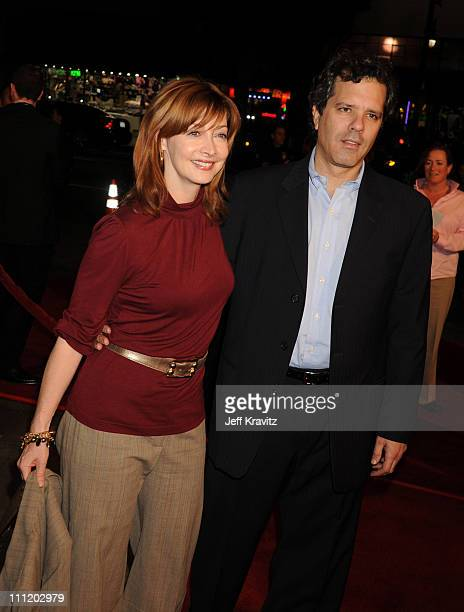 Sharon Lawrence and Dr Tom Apostle at The Kite Runner premiere at the Egyptian Theater on December 4 2007 in Hollywood California