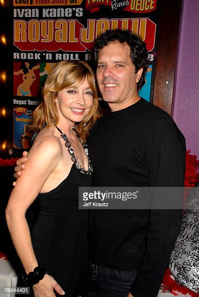 Sharon Lawrence and Dr Tom Apostle at the premiere show of Royal Jelly at Ivan Kane's Forty Deuce at Mandalay Bay on August 30 2007 in Las Vegas...
