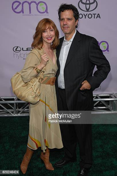 Sharon Lawrence and Dr Tom Apostle attend The 18th Annual ENVIRONMENTAL MEDIA AWARDS at The Ebell Theatre on November 13 2008 in Los Angeles CA