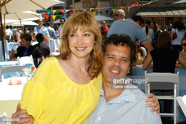 Sharon Lawrence and Dr Tom Apostle attend The 6th Annual Project ALS Los Angeles Benefit New York City Block Party at Paramount Pictures at Paramount...