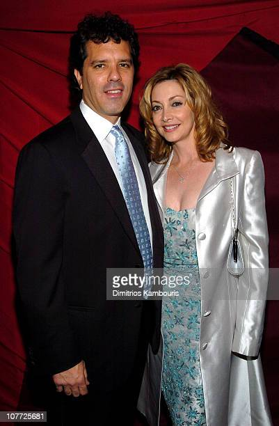 Sharon Lawrence and Dr Tom Apostle during 10th Annual Screen Actors Guild Awards Red Carpet at Shrine Auditorium in Los Angeles California United...