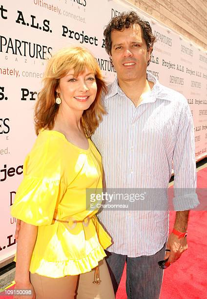 Sharon Lawrence and Dr Tom Apostle during The 6th Annual Project ALS Los Angeles Benefit New York City Block Party At Paramount Pictures Sponsored by...