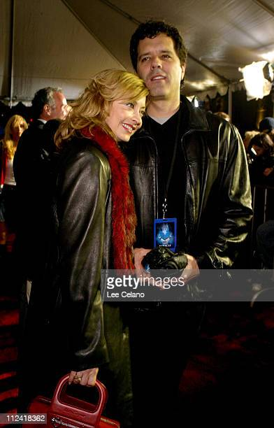 Sharon Lawrence and husband Dr Tom Apostle during Miracle Los Angeles Premiere Red Carpet at El Capitan Theatre in Hollywood California United States