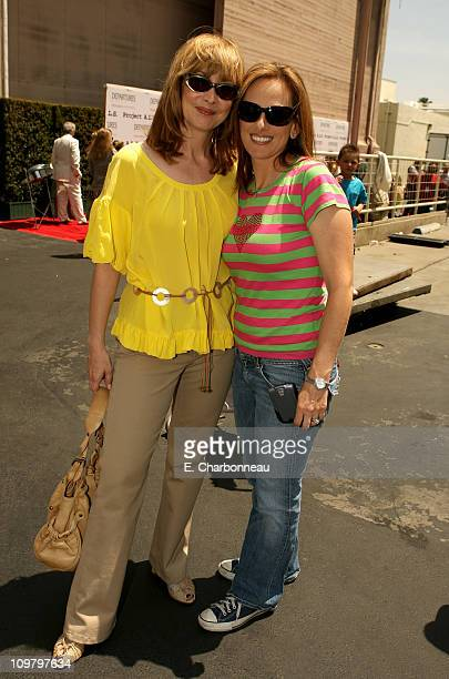 Sharon Lawrence and Marlee Matlin during The 6th Annual Project ALS Los Angeles Benefit New York City Block Party At Paramount Pictures Sponsored by...