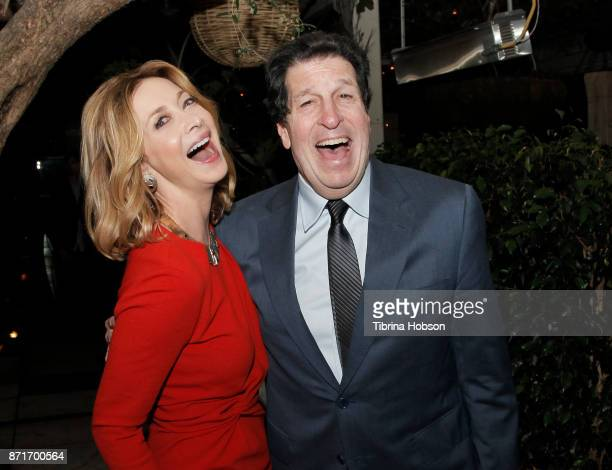 Sharon Lawrence and Peter Roth attend the taping of 'Queen Sugar AfterShow' after party on November 7 2017 in Los Angeles California