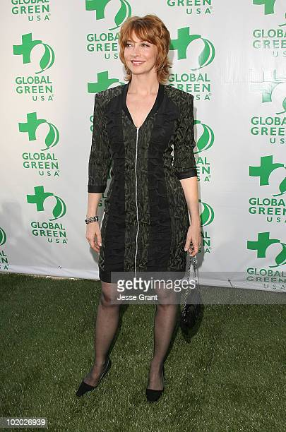 Sharon Lawrence arrives at Global Green USA's 14th Annual Millennium Awards at the Fairmont Miramar Hotel on June 12 2010 in Santa Monica California