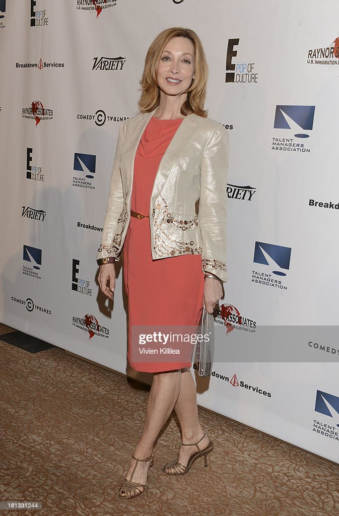Sharon Lawrence attends the 12th Annual Heller Awards at The Beverly Hilton Hotel on September 19, 2013 in Beverly Hills, California.