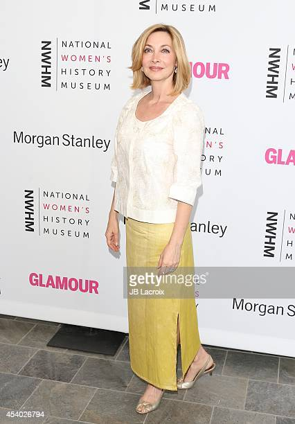Sharon Lawrence attends the 3rd Annual Women Making History Brunch presented by the National Women's History Museum and Glamour Magazine at the...