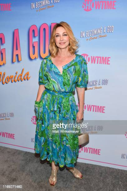"""Sharon Lawrence attends the First Look screening at Showtime's """"Becoming A God In Central Florida"""" at The London Hotel on August 20, 2019 in West..."""