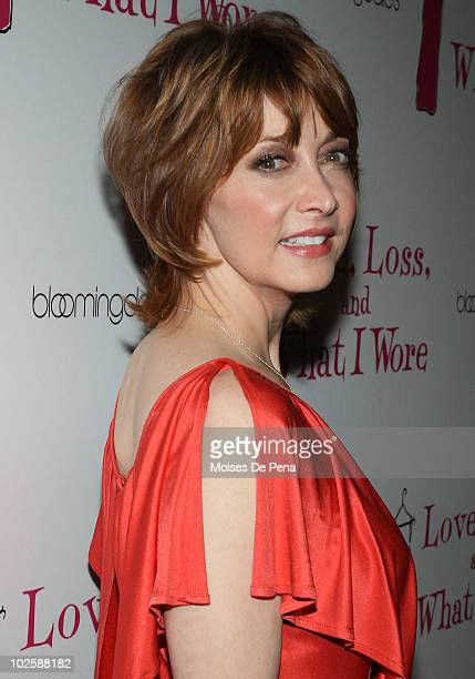Sharon Lawrence attends the 'Love Loss and What I Wore' new cast member celebration at 44 1/2 on July 1 2010 in New York City